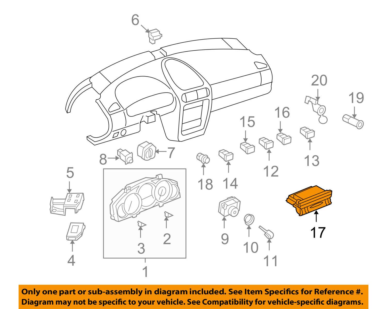 Genuine Porsche Cayenne Heater Control 955 653 123 01 Ebay Engine Diagram Norton Secured Powered By Verisign