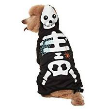 NWT Martha Stewart Pets GITD Skeleton Costume for Dogs Dog Size Medium Halloween