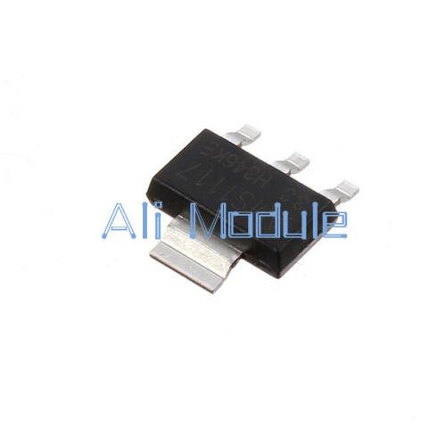 Nuevo 50 un AMS1117-3.3 LM1117 3.3V 1A SOT-223 regulador de voltaje superior