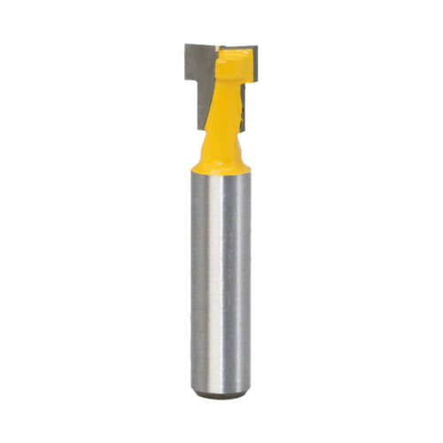 """Details about  /1PC 1//4/"""" Shank Keyhole T-Slot Woodworking Cutter Router Bit 3//8/"""" /& 1//2/"""" For Wood"""