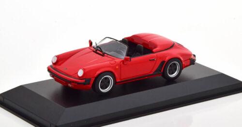 1:43 Minichamps Porsche 911 Speedster convertible 1988 red