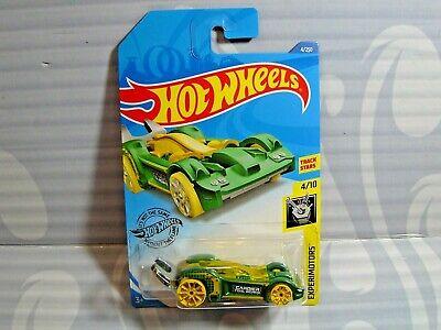 Hot Wheels 2020 Experimotors Tooligan Green 4//250