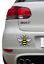 Couleur-Manchester-Bee-Autocollant-Vinyle-Autocollant-Voiture-Van-iPad-Fier-d-039-etre-Mancunian miniature 1