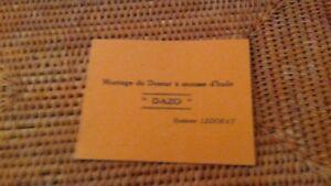 1960 sncf guide manuel reglement montage doseur mousse huile DAZO LEDORAY AbWen9EH-08060614-653575656