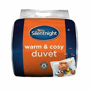 Silentnight Warm And Cosy Tog Duvet -  White Assorted Sizes , Styles