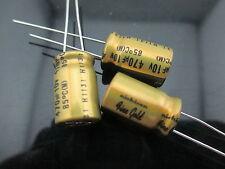 10PCS Nichicon MUSE FG(Fine Gold) 470uf 10v 470mfd Audio Capacitor for audio cap