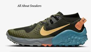 Nike-Wildhorse-6-034-Sequoia-Medio-Oliva-C-034-Uomo-Scarpe-da-ginnastica-LIMITED-STOCK-Tutte-le