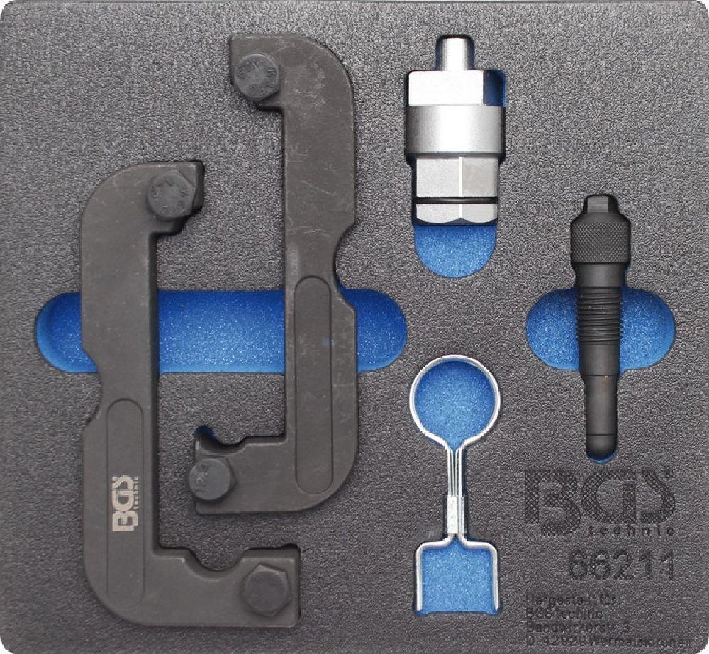 BGS 66211 Motor-Einstellwerkzeug-Satz für Audi 2,0   2,8   3,0 TFSI | Starke Hitze- und Abnutzungsbeständigkeit  | Bunt,  | Outlet Store Online  | Ästhetisches Aussehen