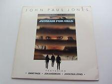 JOHN PAUL JONES   MUSIC FROM THE FILM  SCREAM FOR HELP  U.S.A. VINYL LP