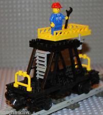 Lego ® ferrocarriles 9v 12v RC-montaje carro 7821 de 1983 * top * para todos los sistemas