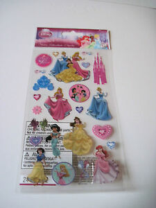 Scrapbooking-Stickers-Crafts-Disney-Princesses-Castle-Cinderella-Belle-Beauty
