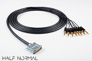 8-Channel-Snake-Cable-25-039-Foot-Mogami-2932-Neutrik-Rean-Gold-DB25-to-1-4-034-TRS