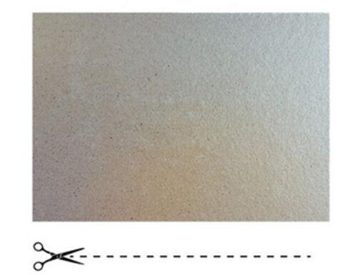 Plaque de Mica  à découper Pour Four Micro-Ondes Universelle 210X110 mm France