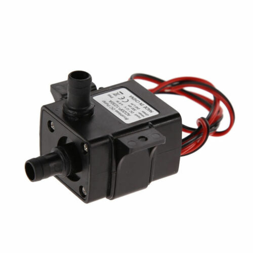 12V 3m 240L//H Ultra Quiet Brushless Motor Submersible Pool Water Pump Solar CA