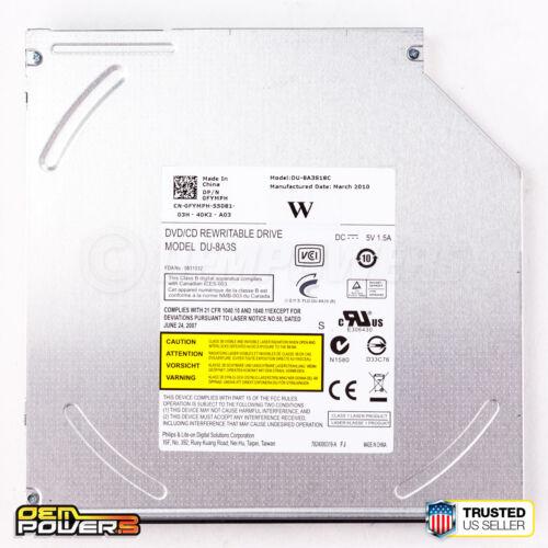 DU-8A3S DVD±RW DVDRW Multi Burner Laptop SATA Optical Drive No Bezel For DELL HP