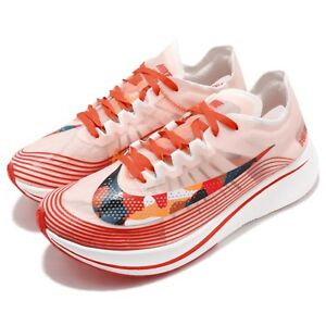 ba017f6d3933 Nike Zoom Fly SP Team Orange Black Sail Camo Swoosh Men Running ...