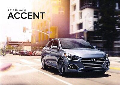 2012 Hyundai Accent Sales Brochure Catalog