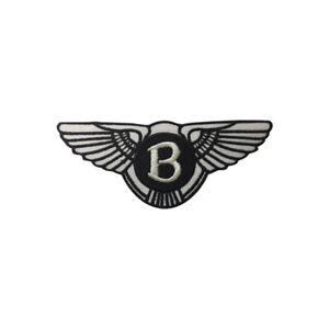 BENTLEY,Motor Sportscar,Racing,Embroidered Patches,Iron On Patches,Sew On Badges