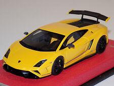 1/43 Looksmart Lamborghini Gallardo LP570-4 Squadra Corse Giallo Midas Yellow