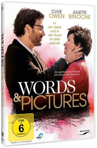 1 von 1 - DVD Words and Pictures, Alles Liebe, Juliette Binoche, Clive Owen wie neu