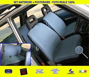 Coprisedili Fiat Panda 141 A Vecchia Panda fodere cotone copri