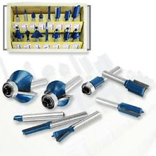 "Hiltex 10100 1/4"" Router Bits - 15 Pieces"