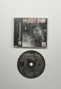 Silent-Hill-PlayStation-1-1999-Black-Label-COMPLETE-with-Registration-Card