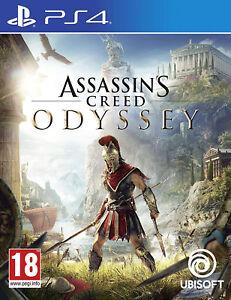 PS4-Assassins-Creed-Odyssey-UNCUT-NEU-amp-OVP-Assassin-039-s-Creed-Playstation-4