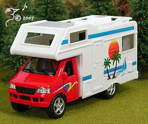 Die-Cast-Camper-Van-Recreational-Vehicle-O-Scale-1-43-by-Kinsmart-RV
