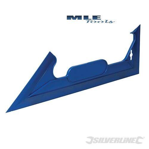 #349035 Silverline Paint Shield 450mm plastc guide edge 45 90 degrees