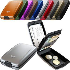TRU-VIRTU-Aluminium-Geldboerse-OYSTER-II-Geldklammer-Portemonnaie-Geldbeutel-NEU