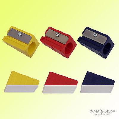Anspitzer Spitzer f dicke Farbstifte Zimmermanns-Bleistifte JUMBO-Stifte 17 mm