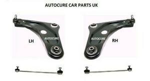 VAUXHALL ASTRA 98-05 FRONT CONTROL ARMS WISHBONES /& DROP LINKS /& TRACK ROD ENDS
