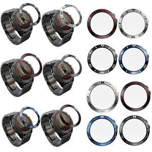 Luminous-Bezel-Ring-Cover-Metall-Gehaeuse-Schutzfolie-fuer-Garmin-Fenix-5X-5X-Plus