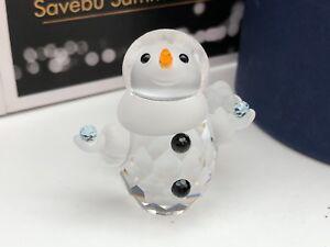 Swarovski-Figurine-624572-Bonhomme-de-Neige-Schneekind-4-2-Cm-avec-Emballage-amp