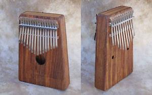 Original-Hugh-Tracey-Kalimba-Box-Alto-chromatische-mit-Pickup-26-Zungen