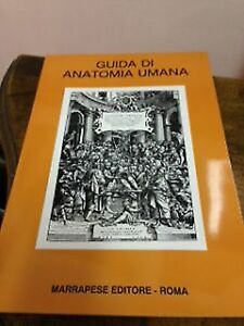 Michele-Anaclerio-Guida-di-anatomia-umana-marrapese-1999