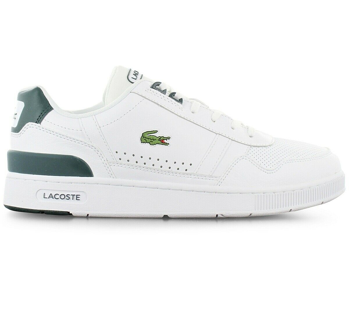 Lacoste T-Clip 120 Men's Sneaker White 7-40SMA00501R5 Leisure Casual Shoes New