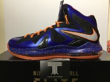 Nike Lebron X P.S Elite. 579827 400. U.K. Size 9.5