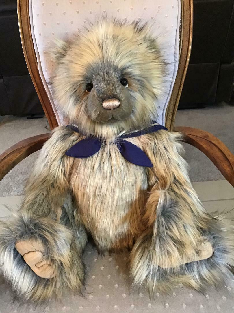 SKIPPER CHARLIE BEARS 2019 PLUSH  24 24 24  NEW WITH TAGS c3627f
