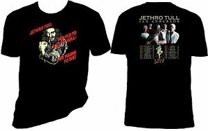 jethro tull t shirt ian anderson too old to rock n 39 roll 2017 concert tour ebay. Black Bedroom Furniture Sets. Home Design Ideas
