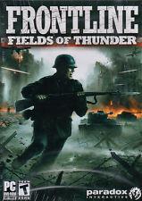 FRONTLINE FIELDS OF THUNDER Tank Battle Sim PC Game NEW