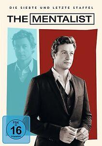 THE MENTALIST DIE KOMPLETTE DVD SEASON  / STAFFEL 7  DEUTSCH