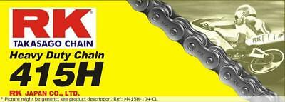 Heavy Duty 104 Clip Link 415 Non-seal Drive Chain / Natural / Carbon Alloy St...