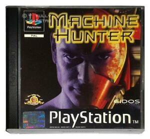 Machine-Hunter-Playstation-1-PS1-Game-Used