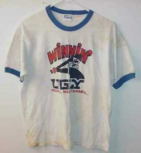 VINTAGE-1983-CHICAGO-WHITE-SOX-WINNING-UGLY-T-SHIRT-TONY-LARUSSA-SIZE-LARGE