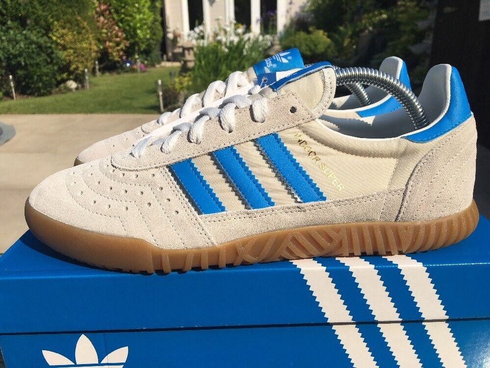 Adidas indoor Super EntièreHommes t neuf dans sa sa sa boîte Taille 8 Retro 80 S football Casual Rare Deadstock | Le Prix De Marché  526197