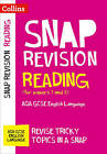 Reading (for papers 1 and 2): AQA GCSE English Language (Collins Snap Revision) by Collins GCSE (Paperback, 2016)