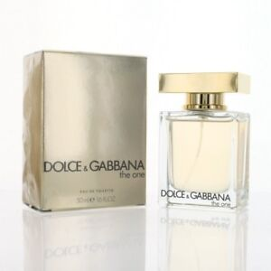 1fba012e49daa DOLCE   GABBANA THE ONE 1.6 OZ EAU DE TOILETTE SPRAY NEW Box Women ...