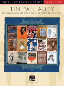 """""""tin Pan Alley"""" Music Book-piano Solo-the Phillip Keveren Series-15 Songs-new!!"""